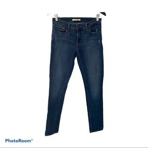 Levi's 711 Skinny Filiforme Mid Rise Women's Jeans